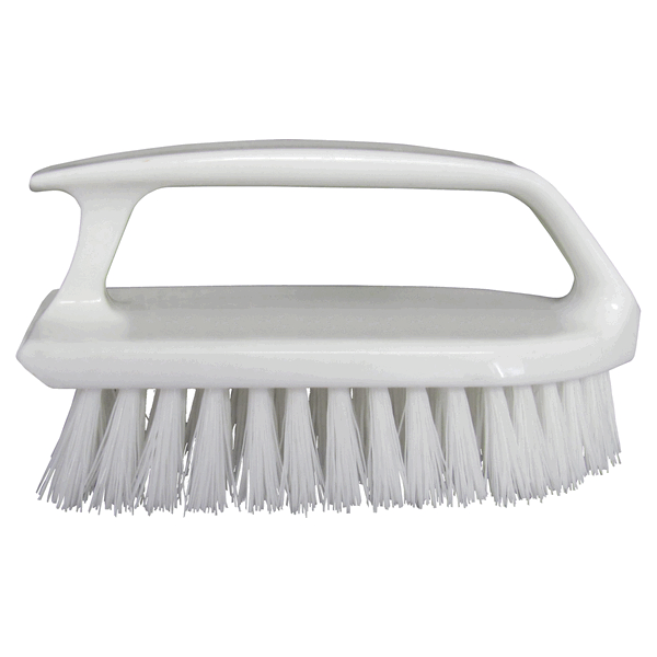 Starbrite Scrub Brush Curved Handle