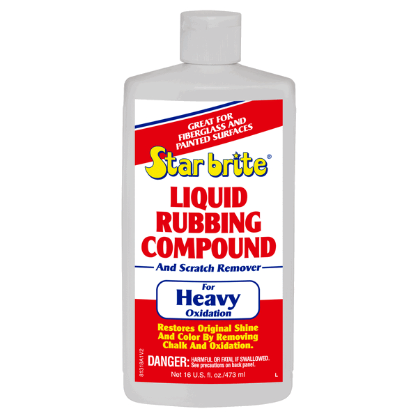 Starbrite Liquid Rubbing Compound 500ml Heavy Oxidation