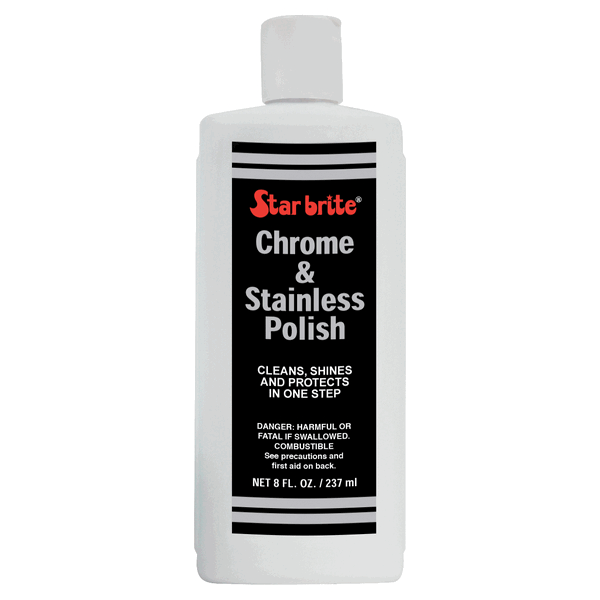 Starbrite Chrome & Stainless Steel Polish 237ml