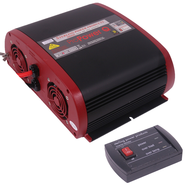 Sterling Pro Power Quasi Inverter 24v 1000W With Remote