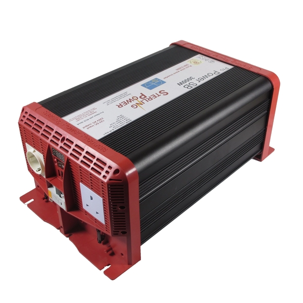 Sterling Pro Power SB Pure Sine Wave Inverter 12V 4000W RCD