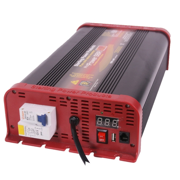 Sterling Pro Power SB Pure Sine Wave Inverter 24V 1600W RCD