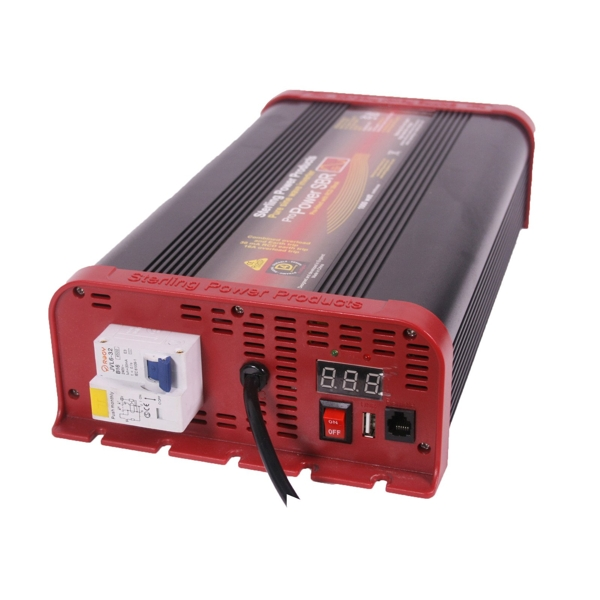 Sterling Pro Power Pure Sine Wave Inverter 12v 1600W With RCD