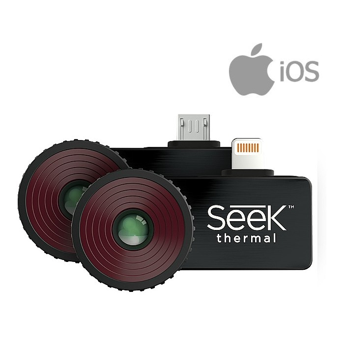 Seek CompactPRO FF Plug in Thermal Imager For IOS Smartphone