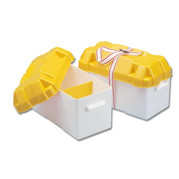Trem Battery Box Large Yellow 410x200x250(H) mm