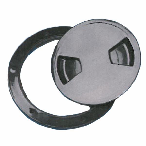 Trem Round Inspection Hatch Black 102mm Opening