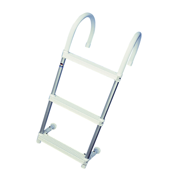 Trem Hook-On Aluminium Ladder 4 Step with Top Bend
