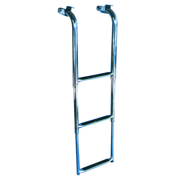 Trem Telescopic Ladder 3 Steps Under Platfom Stowage