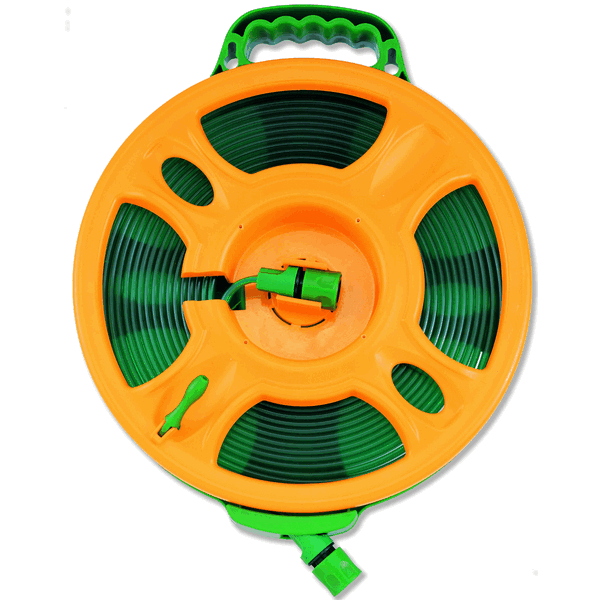 "Trem ""Hose Reel 15m, supplied with"" couplings"