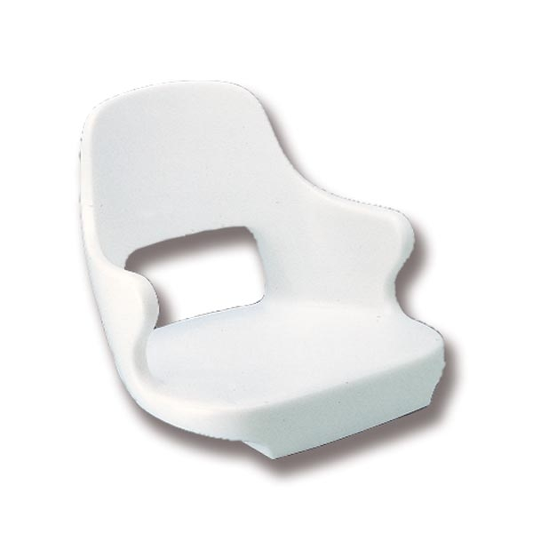 Trem Captain Seat White