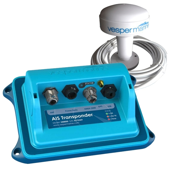 Vesper Marine XB-8000 AIS Transponder With Built In WIFI