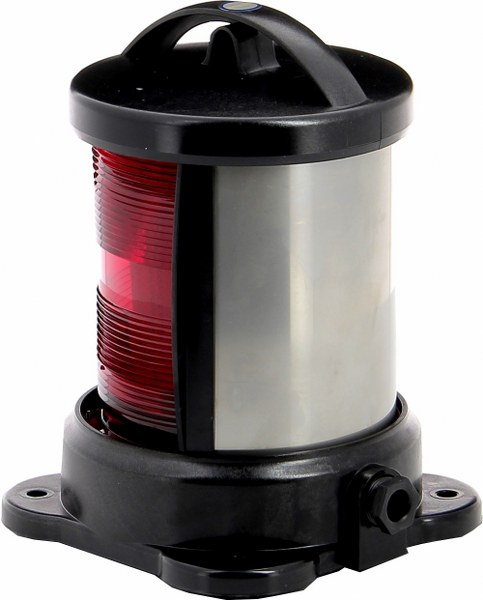 Vetus Portside light red-base mounting