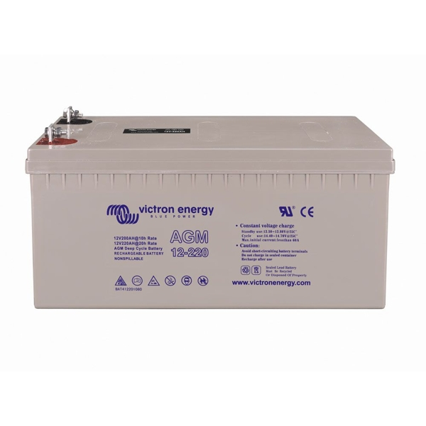 Victron Energey 12v/230ah AGM Super Cycle Battery(M8)