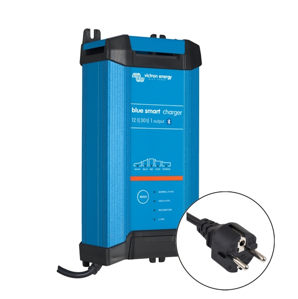 Victron Blue Smart IP22 Charger 12v/30a (1 output) Euro Plug
