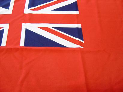 Waveline Red Ensign 3/4 Yard (70x35cm) SEWN