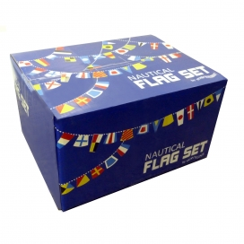 Waveline Complete Box Set of 40 Signal Flags(Printed) & 40 Pocket Holder