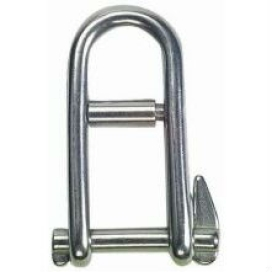 Waveline Halyard Shackle inc pin - S/Steel 38mm