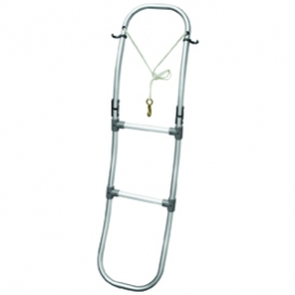 Waveline Folding ladder For Inflatable Boats 3 Step