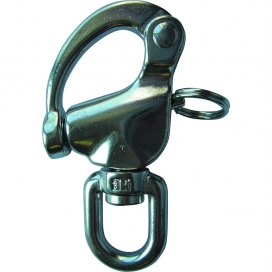 Waveline Swivel Snap Shackle - S/Steel Large