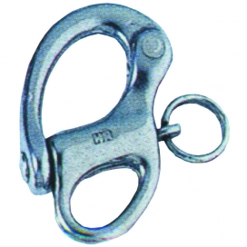 Waveline Fixed Snap Shackle - S/Steel Large