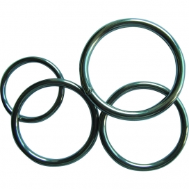 Waveline Round Ring - Stainless Steel 316  6 x