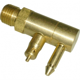 "Waveline Mercury Mariner Male Brass Male Quick Connect 1//4/"" NPT Thread WL-A04B13"