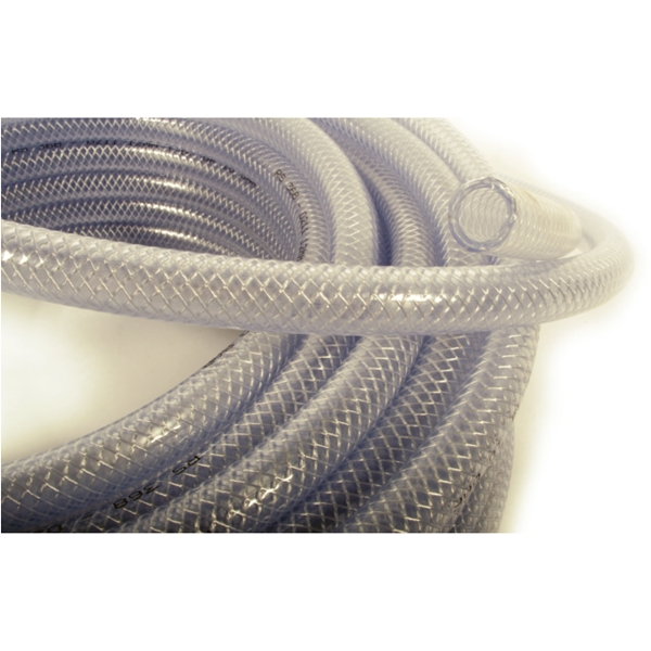 Waveline Clear Reinforced Water Hose 1/2 Inch 12.5MM - 30M
